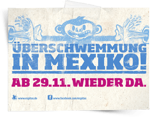 �berschwemmung in Mexiko